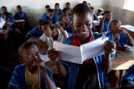 School children in Velondriake | Photo: Garth Cripps