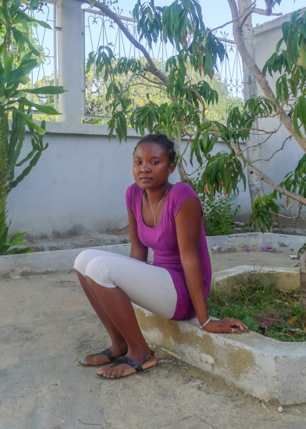 Lucia at the Blue Ventures office in Toliara