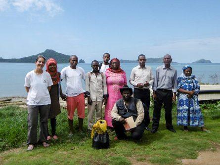 The Dahari/BV team in Moheli Marine Park