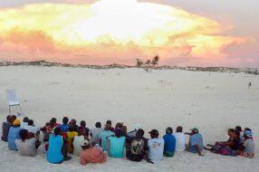 A community meeting | Photo: MWAMBAO