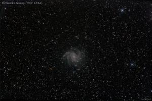 NGC 6946 - firewoks galaxy