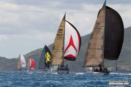 The Around Antigua Race officially started the week of competition.