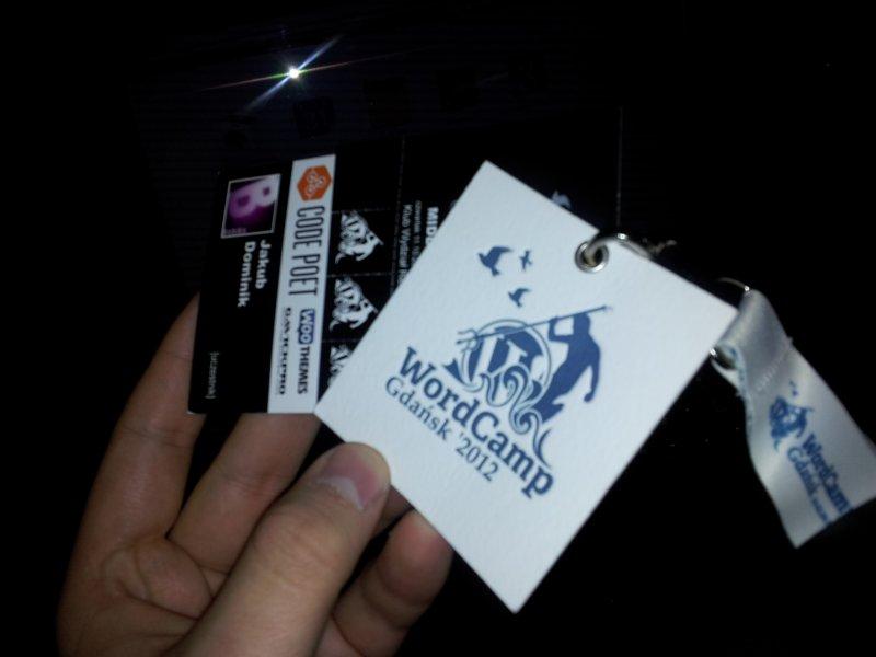 Bilety WC Gdansk 2012