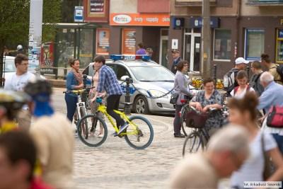 Jestem legalnym cyklistą – spotkanie trzeciego stopnia zpolicją