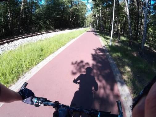 Ścieżka R10 w Pogorzelicy