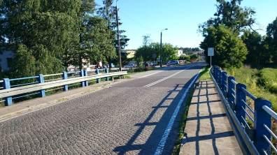 Mostek nad Notecią w Turze