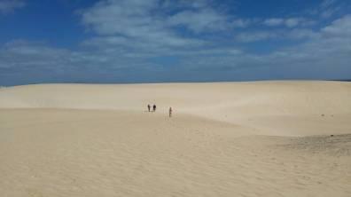Fuertaventura - piaszczyste tereny Parku Narodowego