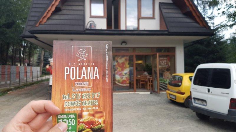 Magia Tatr - restaurcja Polana