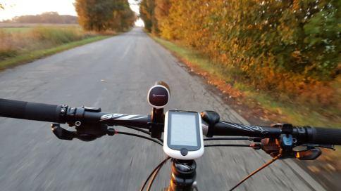 Mio Cyclo 500HC - prezentacja w terenie