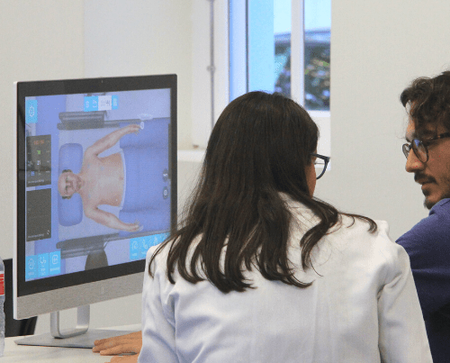 Debriefing with Body Interact virtual patients