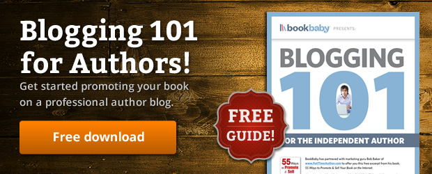 Download BookBaby blogging guide