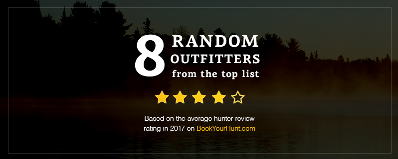 8 random outfitters from the top list