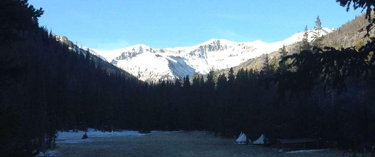 Fantastic scenery of Wyoming