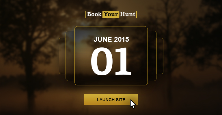 BookYourHunt.com was founded June 1, 2015