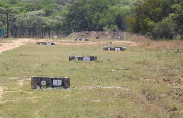 view of the range