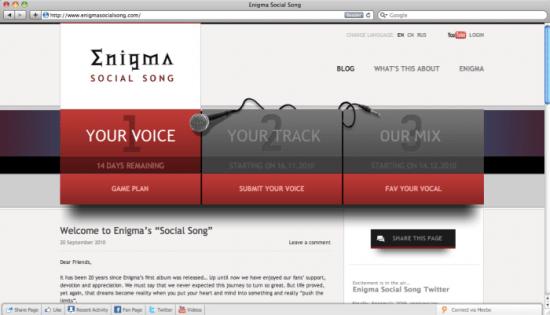 Enigma Social Song