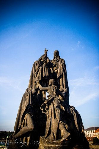 Saints Cyril and Methodius at Charles Bridge
