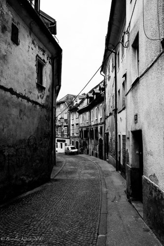An old street in Ljubljana