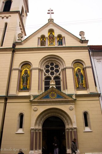 St. Cyril and Methodius Church in Zagreb