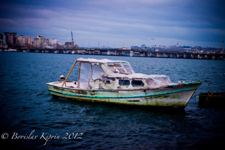 A Golden Horn vessel