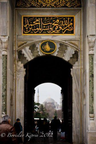 Seeing through Topkapı's gate