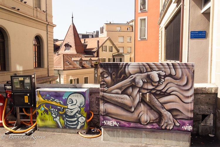 Lausanne graffiti