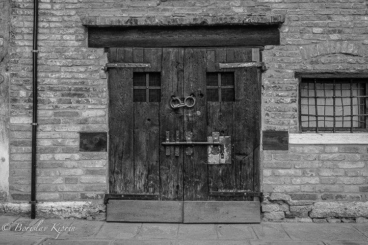 A Venice door