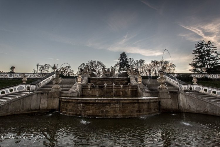 Krumlov fountain