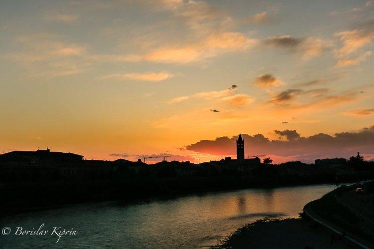 A Verona sunset