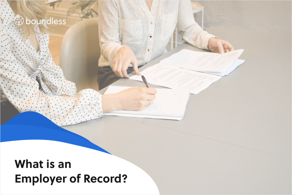 what is an employer of record
