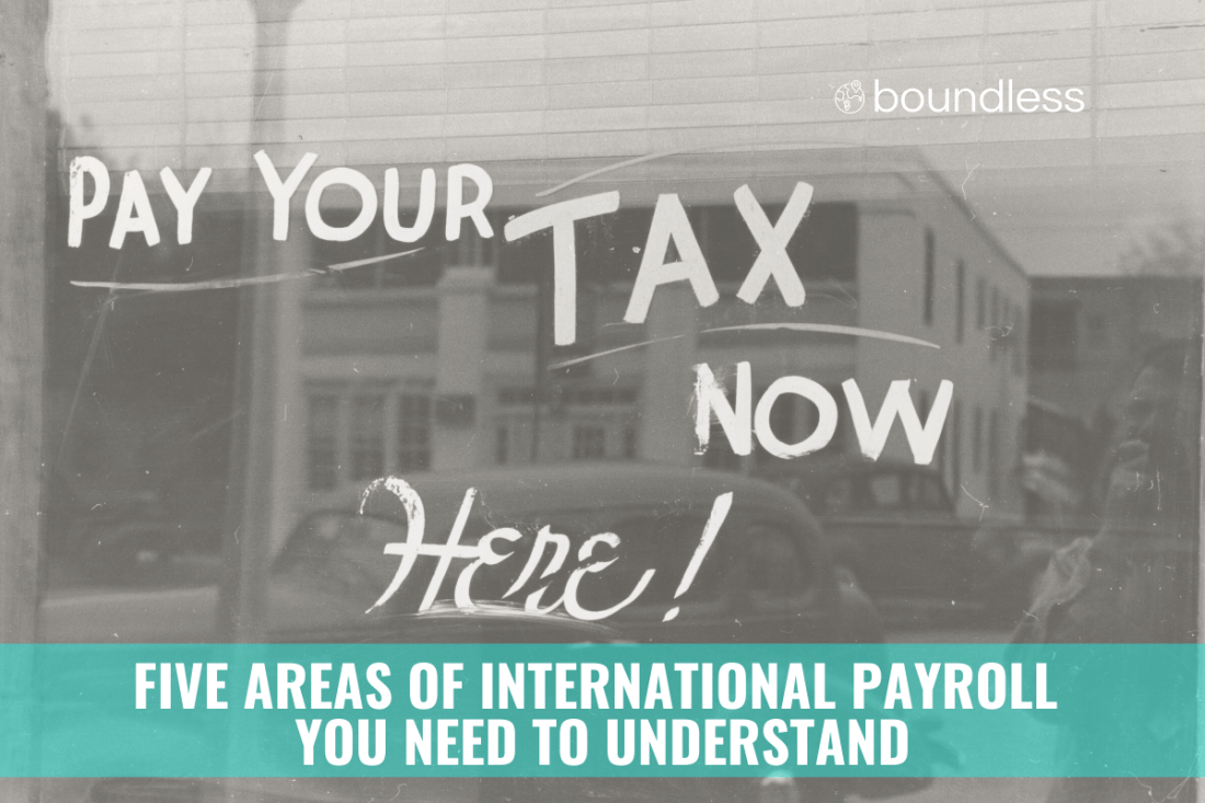 five areas of international payroll to understand