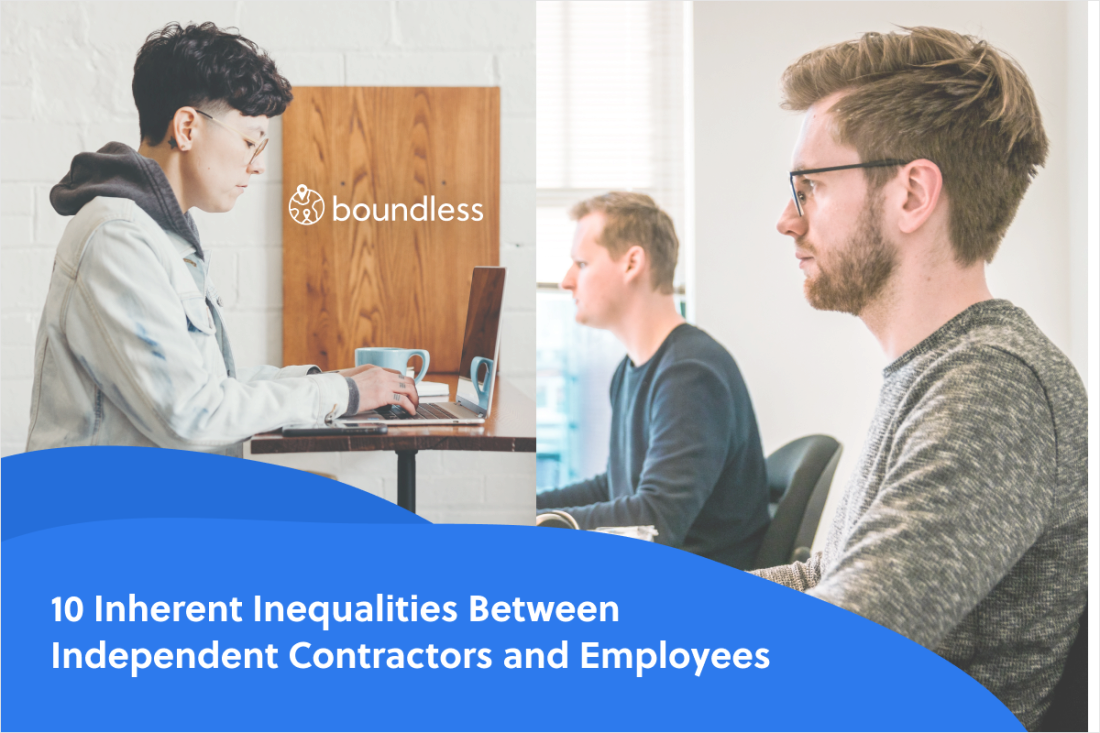 10 inherent inequalities between independent contractors and employees