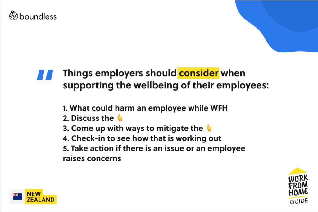 how employers should support the well being of their employees