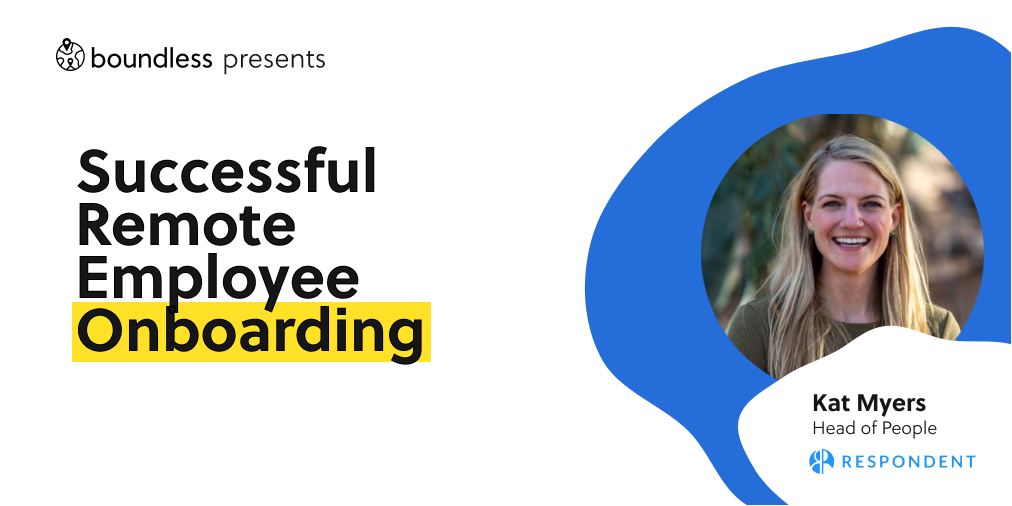successful remote employee on boarding