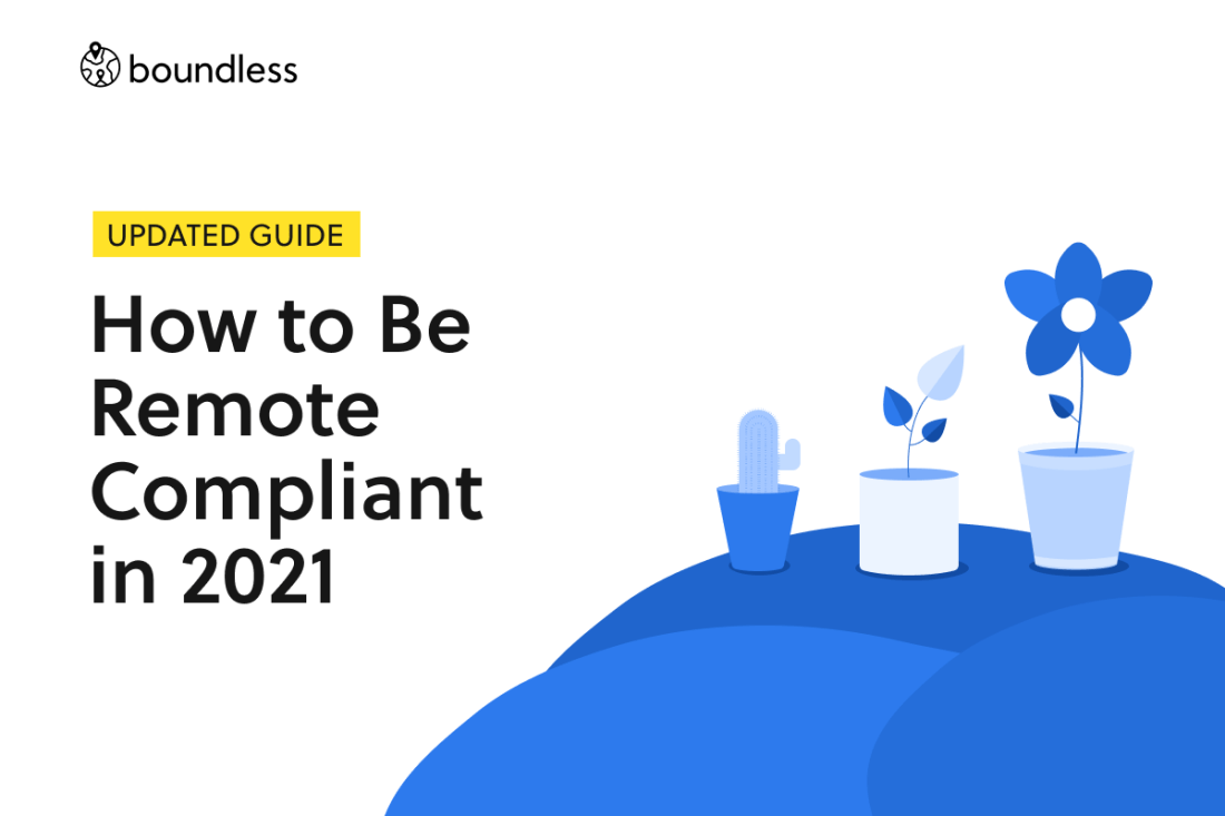 How to be remote compliant in 2021