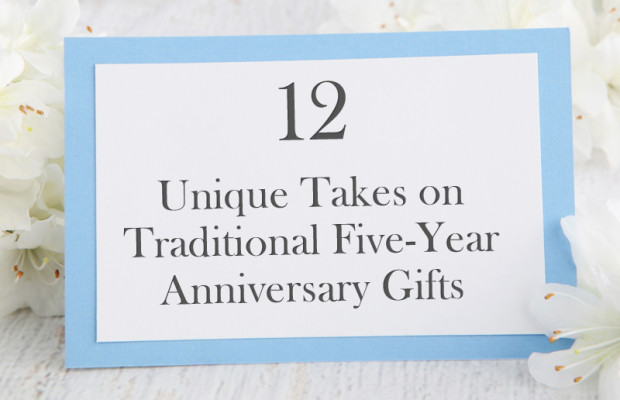 12 Unique Five-Year Anniversary Gifts
