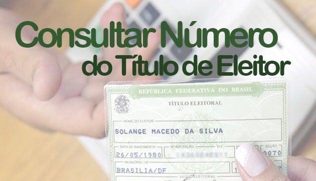 Como descobrir o número do Título de Eleitor