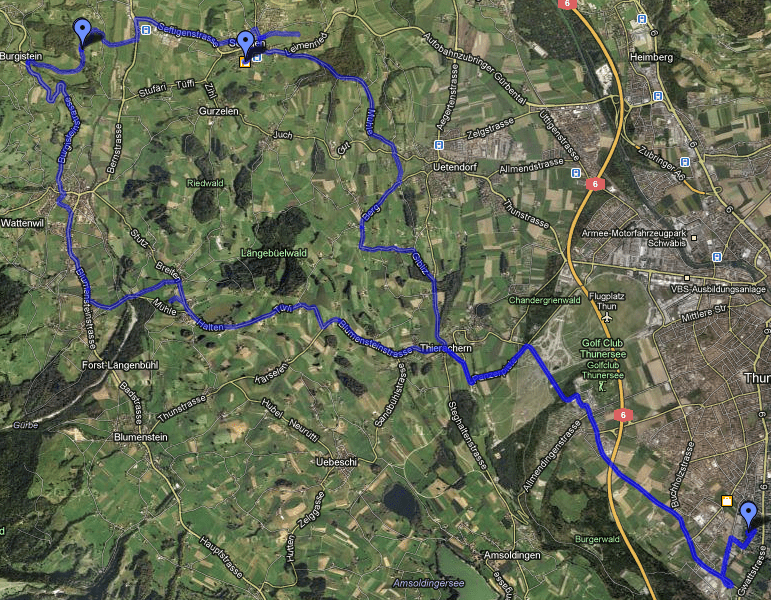 Route Jungfernfahrt Stöckli e.t.