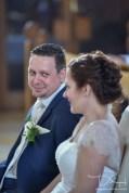 kirchliche Trauung in der Sankt Maternus Kirche und der Hochzeitsfotograf macht die Fotos!