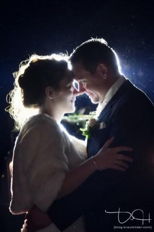 Romantische Bilder macht der Hochzeitsfotograf