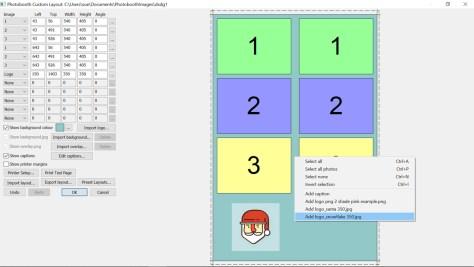 DSLR Remote Pro 3.12 Print Layout Editor