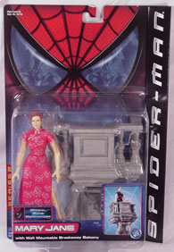 Spider-man Movie Mary Jane in package