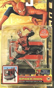 Spider-Man movie billboard figure in package