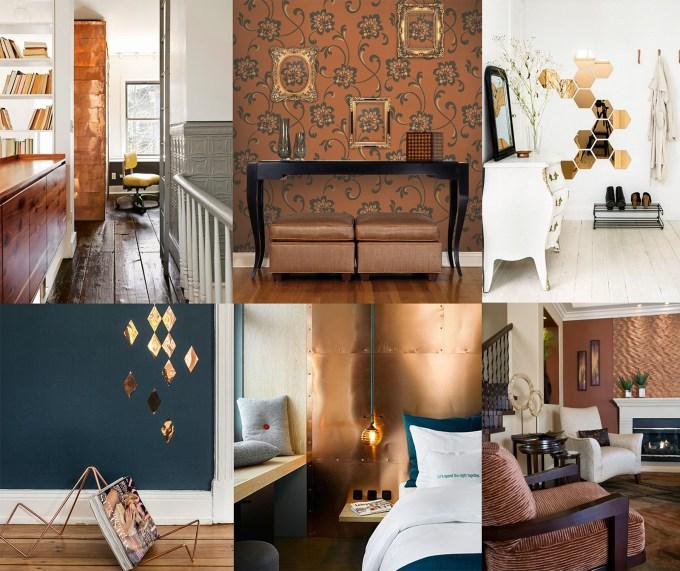 Copper Coloured Living Room Accessories   Ayathebook.com