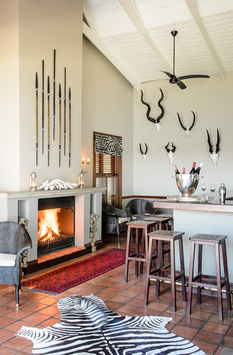 Safari themed kitchen