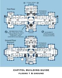 Texas Capitol Building Map
