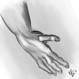 How to Draw A Hand - Sketch 34