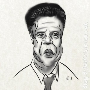 How to Draw Christopher Walken Caricature - Sketch 85