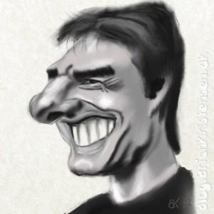 Tom Cruise Caricature - Sketch 97