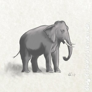 How to Draw an Elephant - Sketch 112